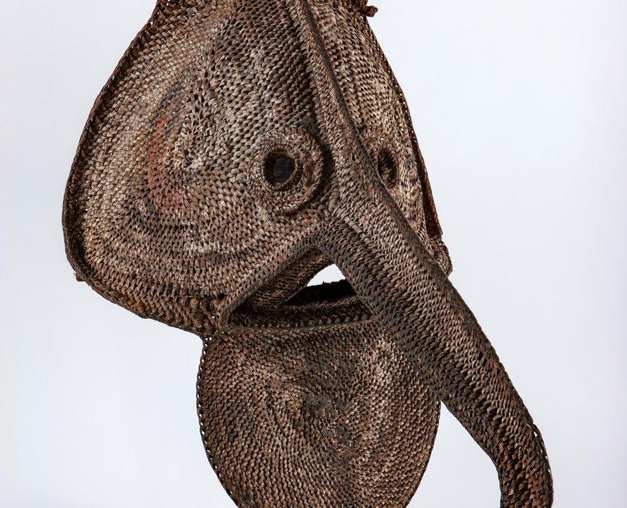 Máscara didagur (Karawari, Papua Nova Guiné) – Créditos: José Eduardo Cunha/MHNC-UP