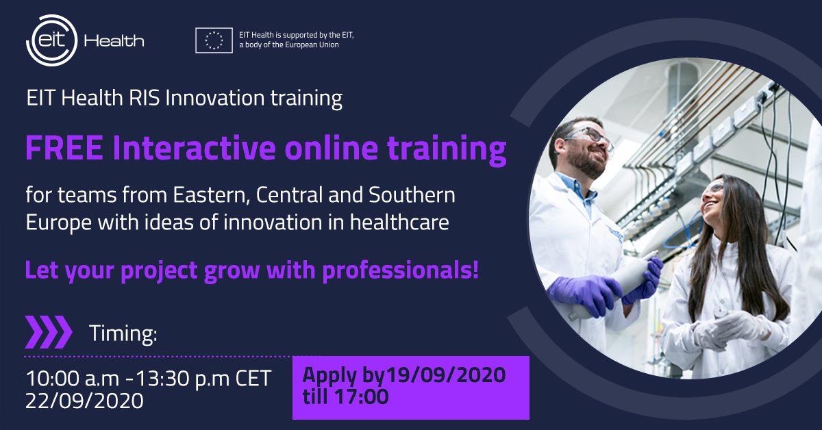 EIT Health Innovation training - September