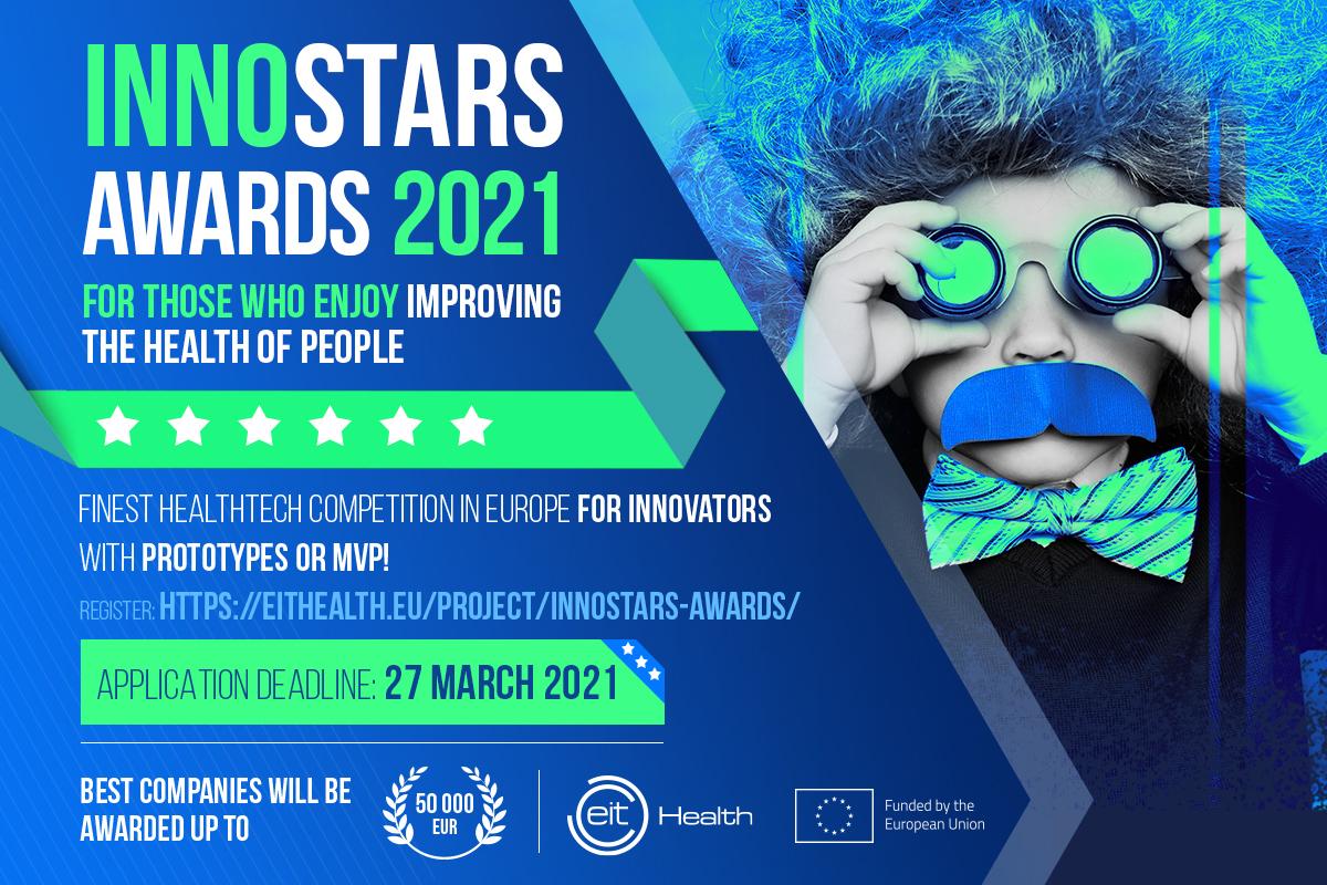 InnoStars Awards - Call for Applicants 2021