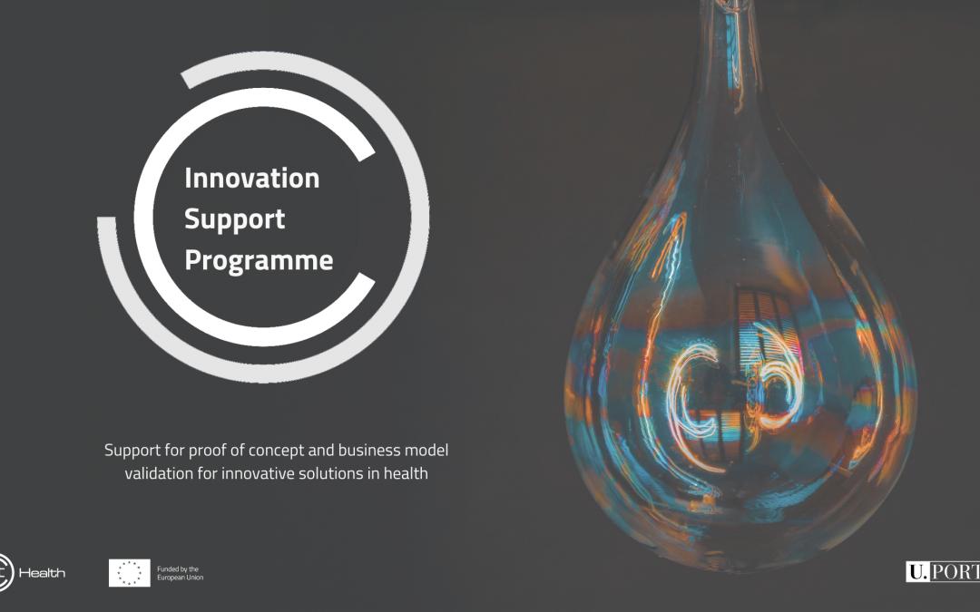 Innovation Support Programme Banner