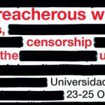 """Congresso Internacional """"Palavras traiçoeiras: notícias falsas, censura e o indizível"""""""