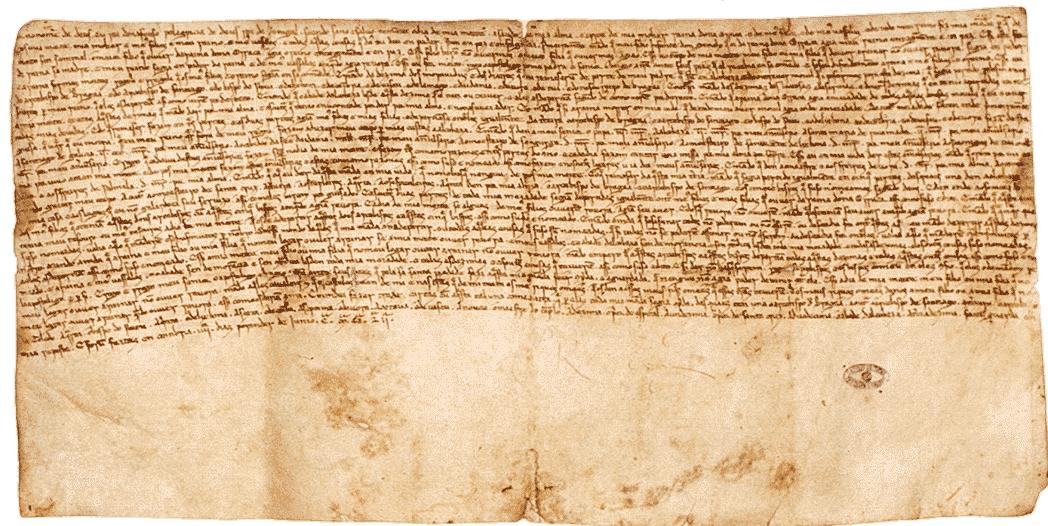 """História da língua portuguesa - """"Testamento de D. Afonso II"""""""